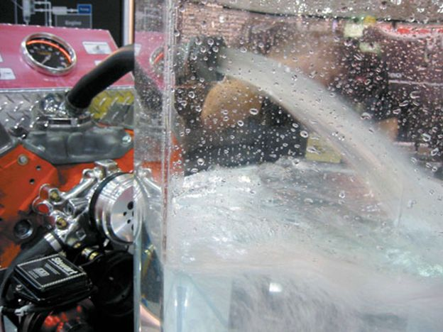 Can you use water instead of engine coolant?