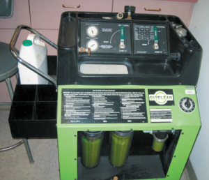 Coolant Exchange Machine